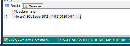sql server query window color code